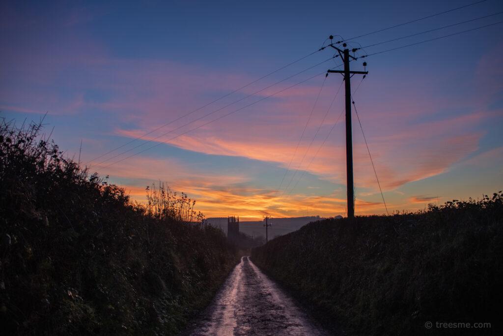 Pound Lane at the End of November